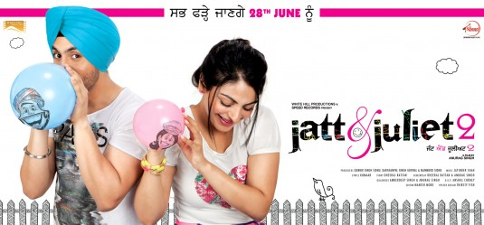 Jatt & Juliet 2 2013 | Dual Audio Movie HD