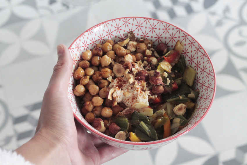 lunch bowl recette orientale
