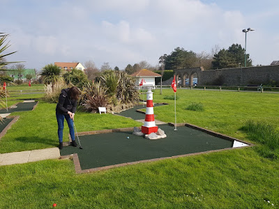 Splash Point Mini Golf course