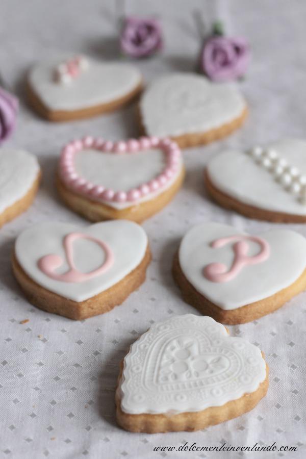Conosciuto Dolcemente Inventando : Biscotti matrimonio e auguri a  BH87