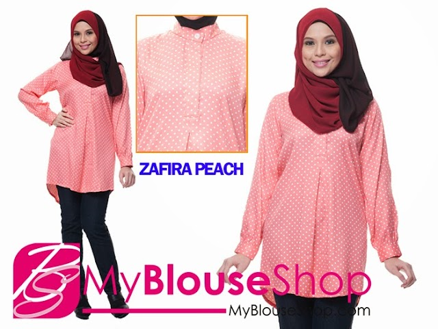 Blouse Labuh Muslimah Zafira dari MyBlouseShop.com