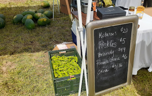 Farm products ready for sale
