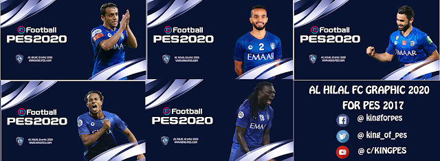AL Hilal FC Start Screen For PES 17 - 18 - 19 By KING-PES