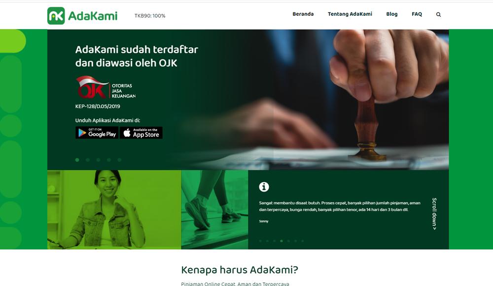 AdaKami-Pinjaman dan Ciciclan Kredit Online.