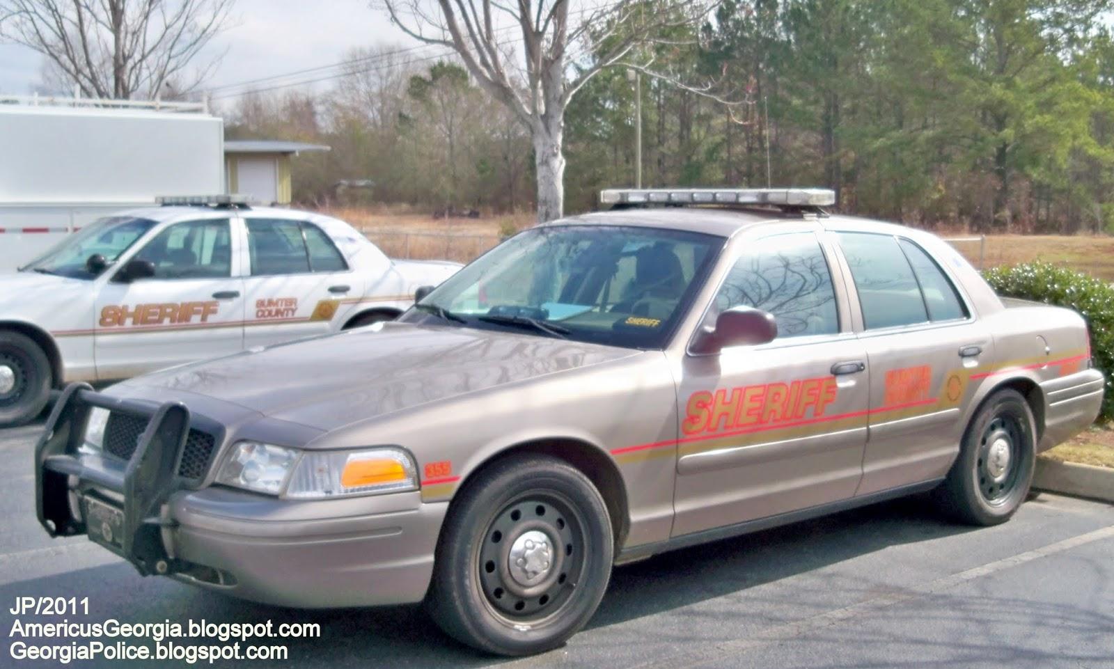 Police Dept  GA FL AL, Sheriff State Patrol Car Cops K-9