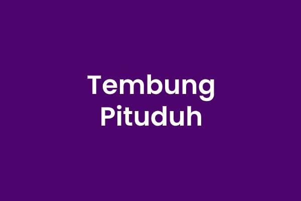 Tembung Pituduh Bahasa Jawa
