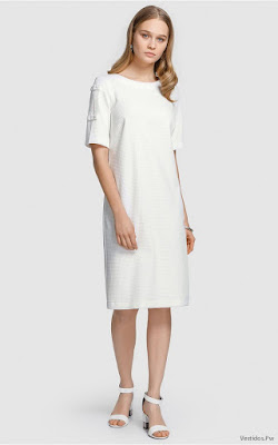Vestidos Blancos Elegantes