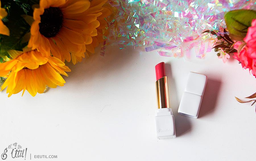 Batom Kiss Kiss Roselip (Pink Me Up) - Guerlain