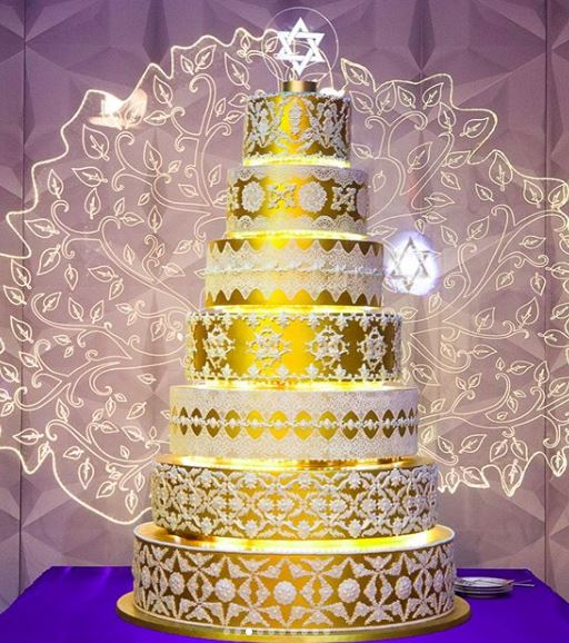 bolo casamento judaico
