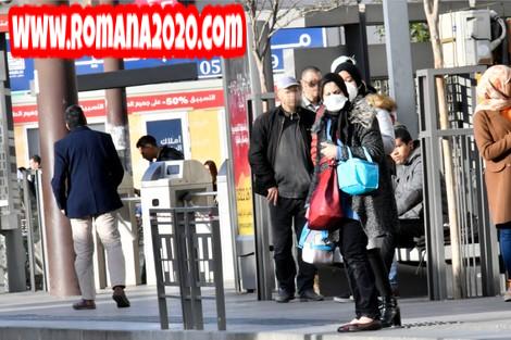 أخبار المغرب مخاوف انتشار فيروس كورونا المستجد covid-19 corona virus كوفيد-19 جراء ازدحام رحلات tramway