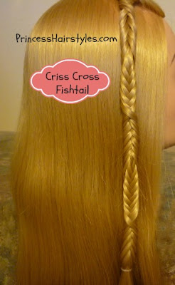 unique fishtail braid