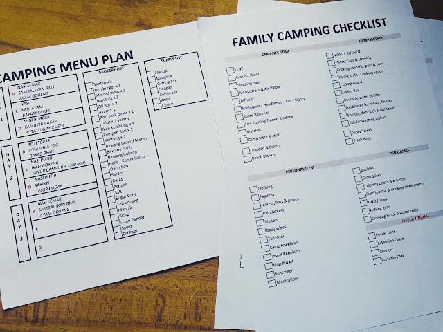 Pengalaman camping bersama anak anak di GG Retreat