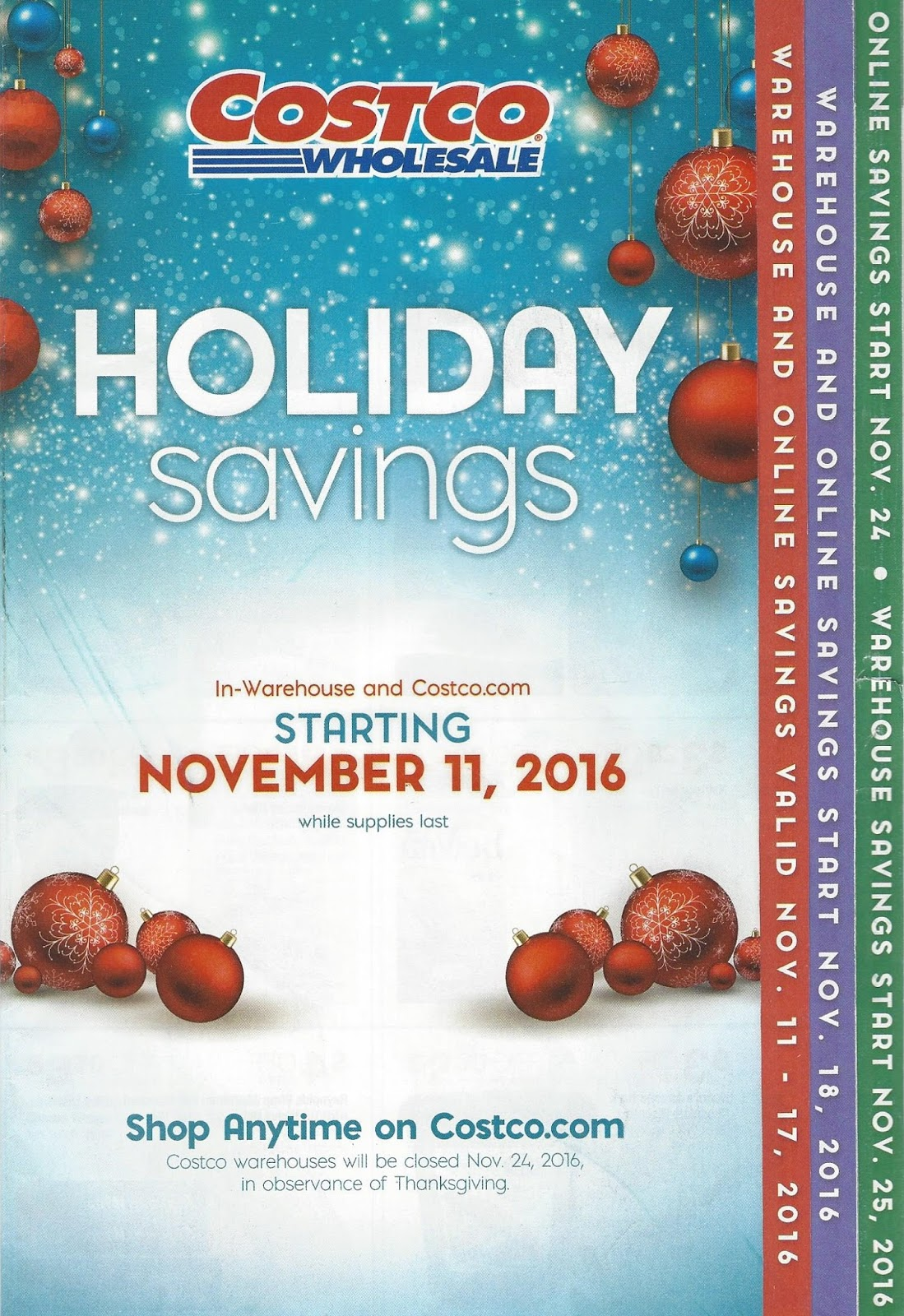 Costco Coupon Book Black Friday 2016