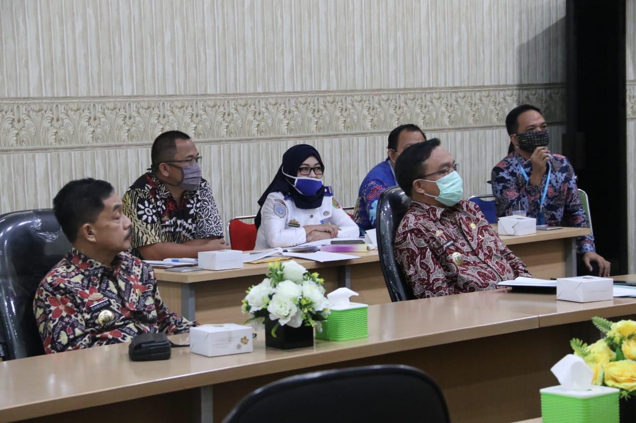 Pemprov Lampung Gelar Rapat Pembuatan Video Inovasi Teknologi