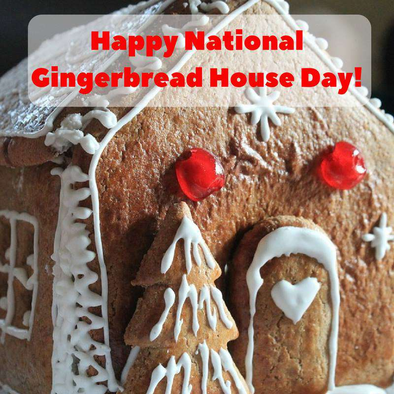 Gingerbread House Day Wishes pics free download
