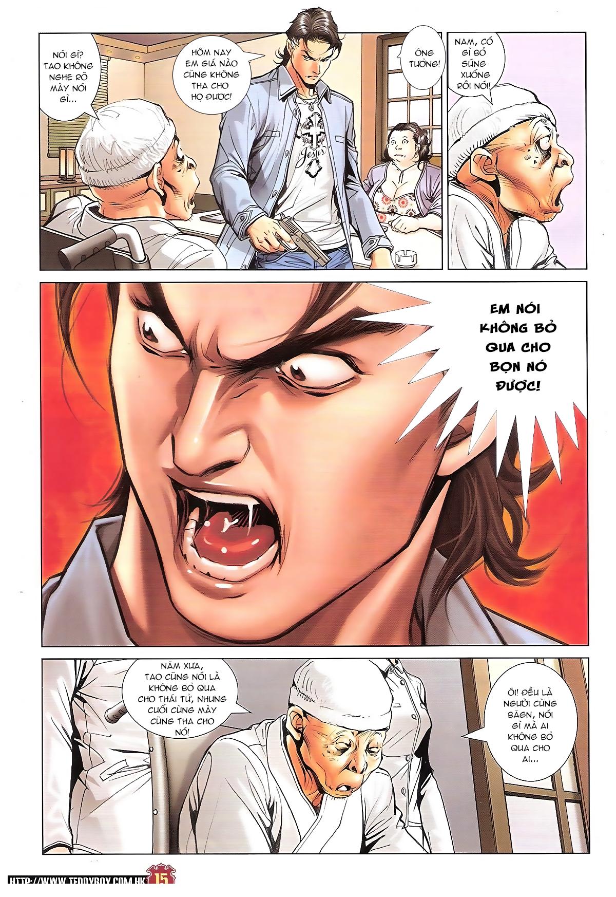 Người Trong Giang Hồ chapter 1656: nể mặt lão tưởng tao trang 14