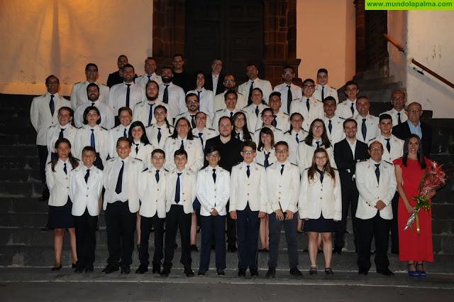 La Banda de Música San Miguel celebra los 20 años de su concierto de Semana Santa