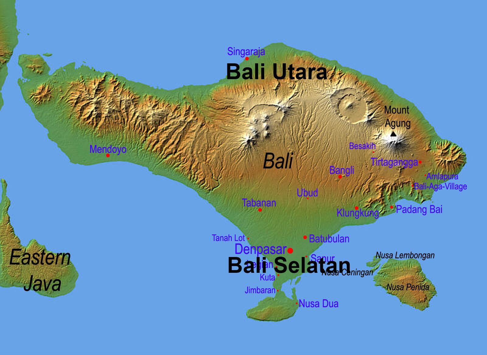 Perbedaan Tempat Wisata Bali Selatan Dan Bali Utara
