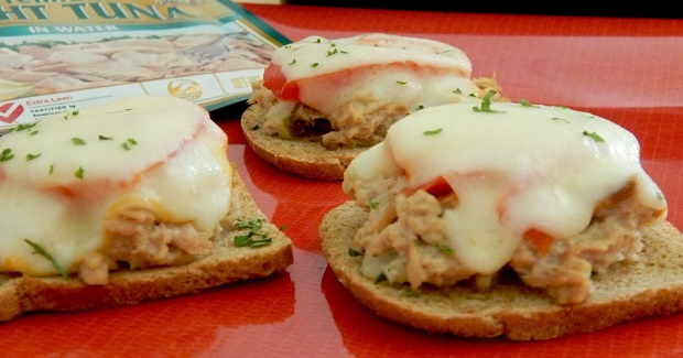 Mini Tuna Melt Sliders  Recipe