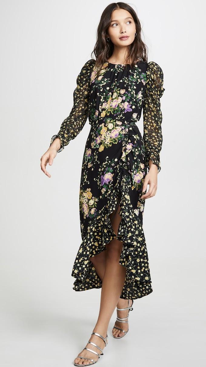 Tory Burch For Love & Lemons Ross Midi Dress