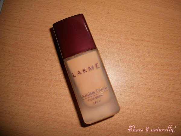Lakme Invisible Finish foundation