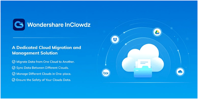 WonderShare InClowdz - A Great Solution for Cloud Management