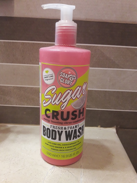 Soap and Glory Sugar Crush Body Wash Review