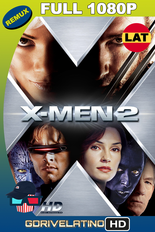 X-Men 2 (2003) REMASTERED BDRemux 1080p Latino-Ingles MKV