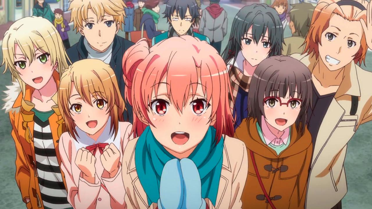 anime like snafu oregairu