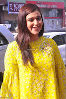 Mannara Chopra Looks Cute in Yellow Salwar Suit ~  Exclusive 56.JPG