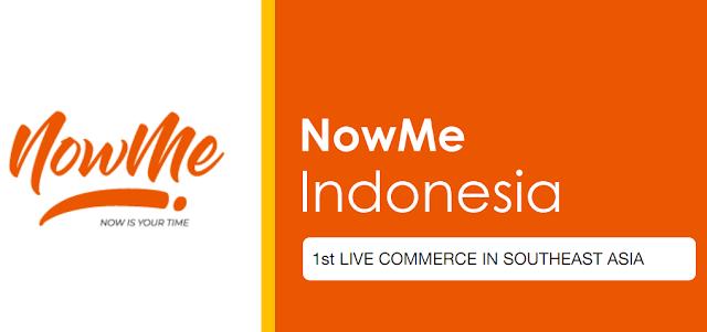 NOWME 1ST Live Commerce di Asia Tenggara untuk Meraih Pendapatan dan Mengembangkan Jaringan Terbaik