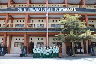SDIT Hidayatullah, salah satu sekolah islam terbaik di Sleman