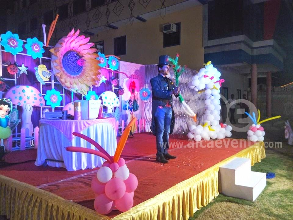 Aicaevents India Sunflower Theme Birthday Party