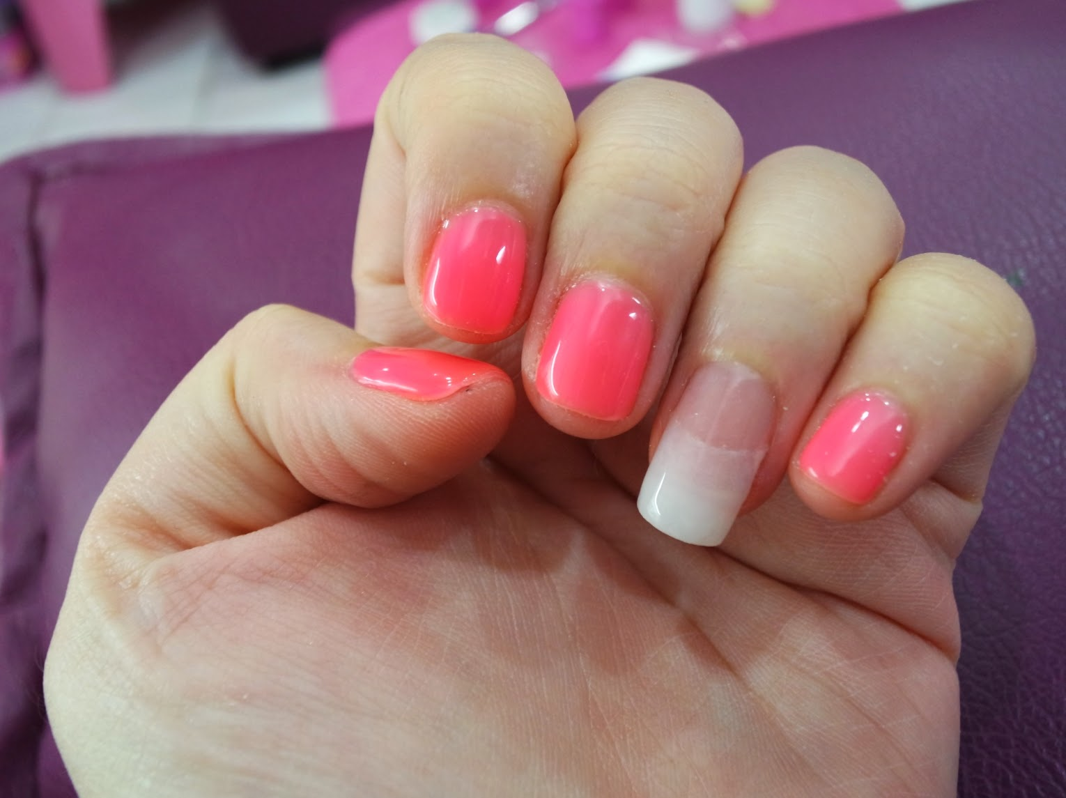 Temperature Change Gel Polish and NFC Nails by Me-Nail (SPONSORED ...