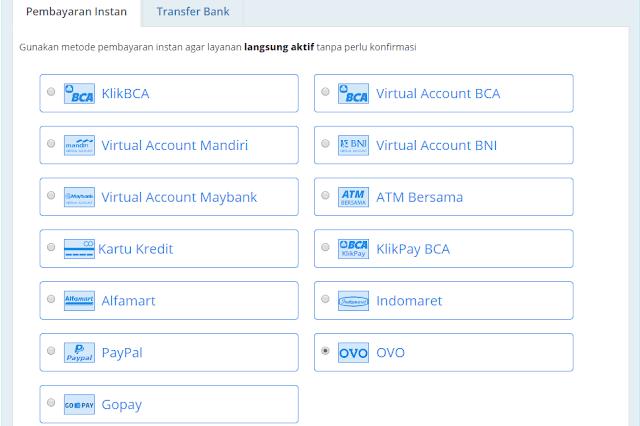 Metode Pembayaran Domain di RumahWeb