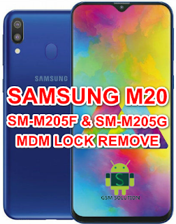 How To Remove Samsung M20 MDM Lock-Dose Not allow Factory Reset