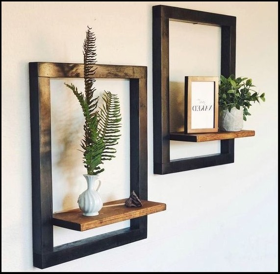 shelves wall ideas
