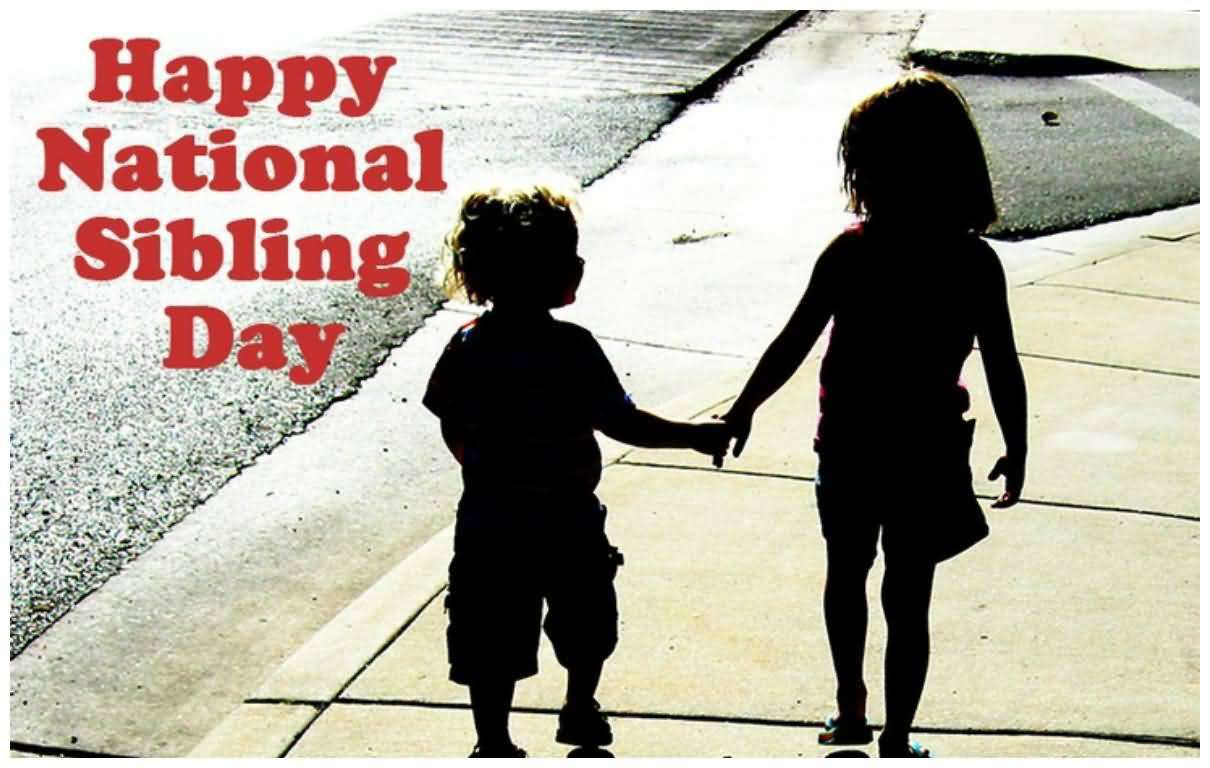 National Siblings Day Wishes Unique Image