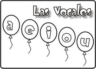 Dibujo De Las Vocales Para Colorear Colorea El Dibujos