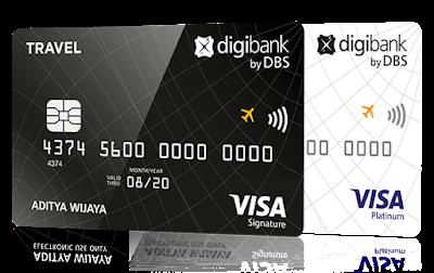5 Rekomendasi Kartu Kredit Terbaik Untuk Mengumpulkan Miles - Digibank Travel Platinum