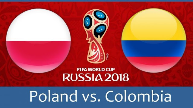 Poland vs Colombia Full Match Replay 24 June 2018
