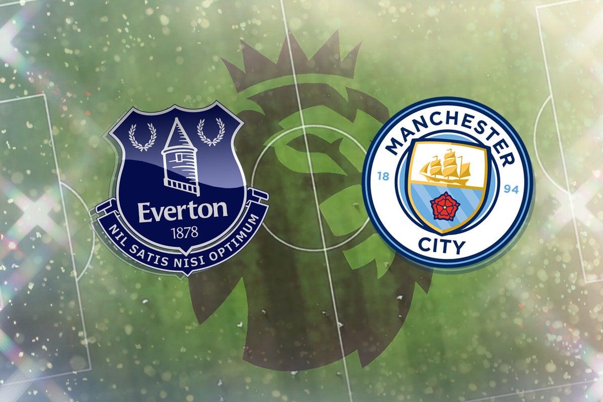 بث مباشر مباراة مانشستر سيتي وايفرتون