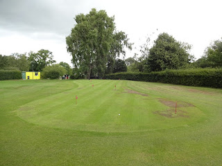 Putting Green at Coate Water Country Park in Swindon