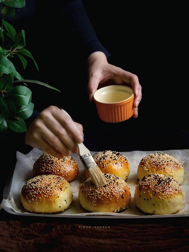 طريقة عمل بريوش خبز البرجر السريع