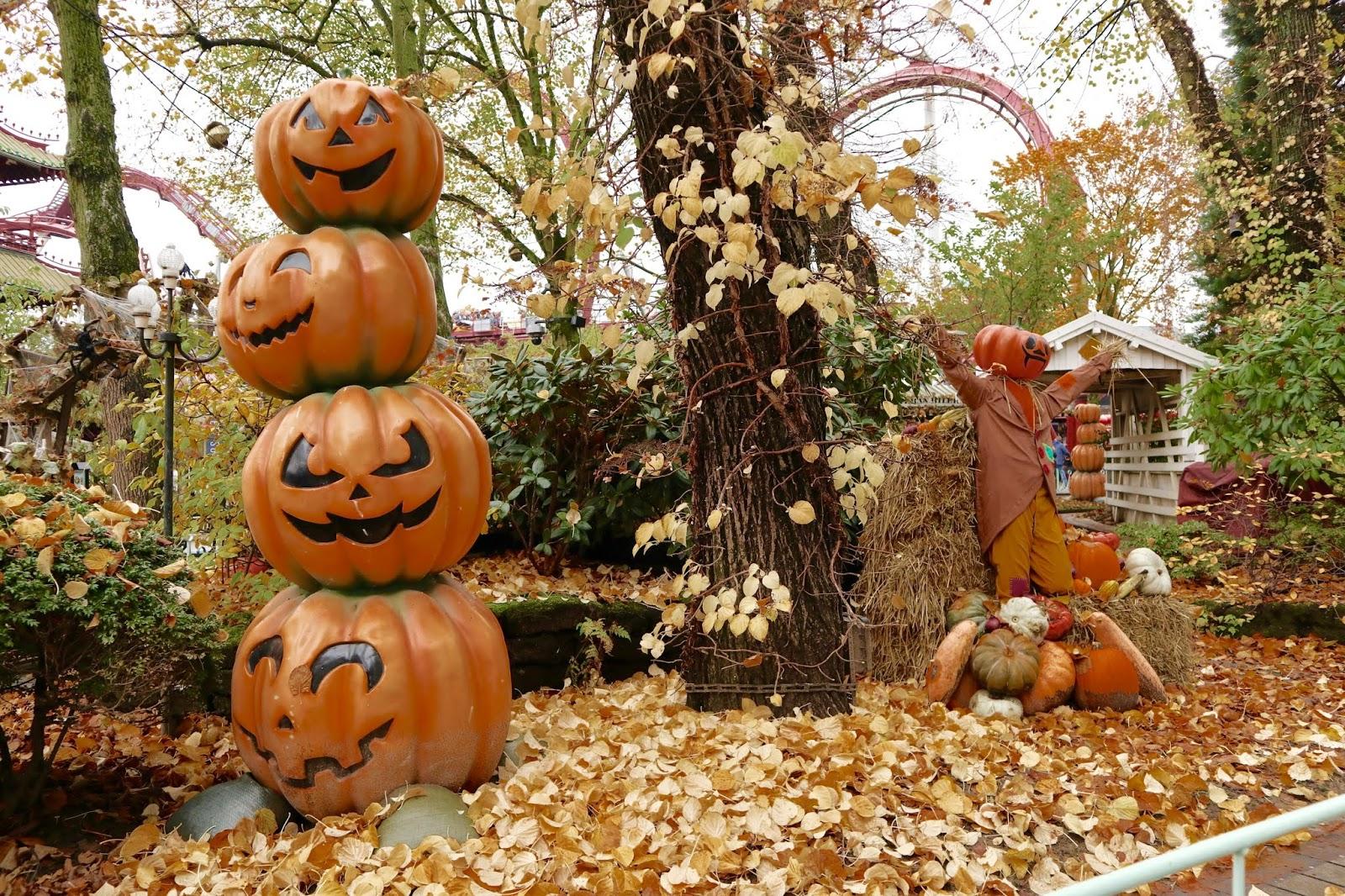 Halloween at Tivoli Gardens Copenhagen