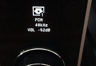 PMA−60 Victor XL-Z711での光ケーブル接続表示