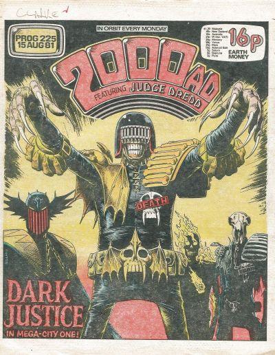 2000 AD Prog 225, Judge Death Lives!