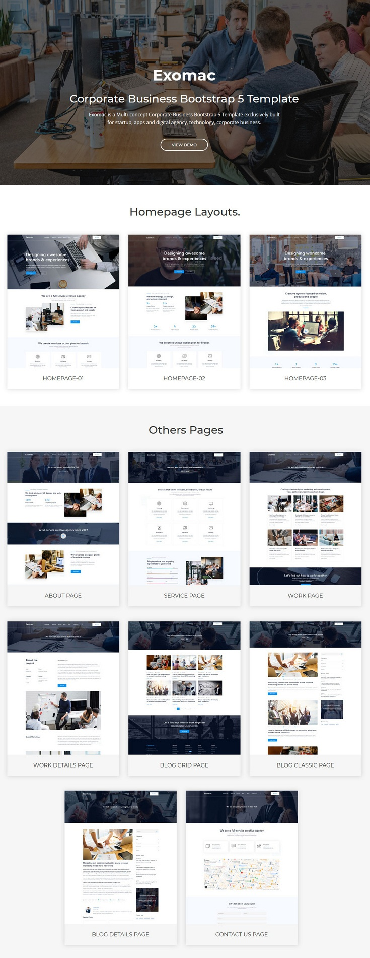 Corporate Business Bootstrap 5 Template