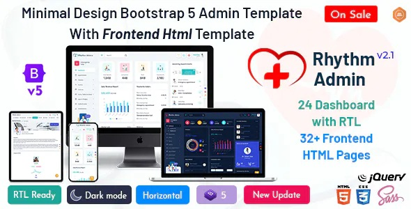 Best Medical Responsive Bootstrap 5 Admin Template