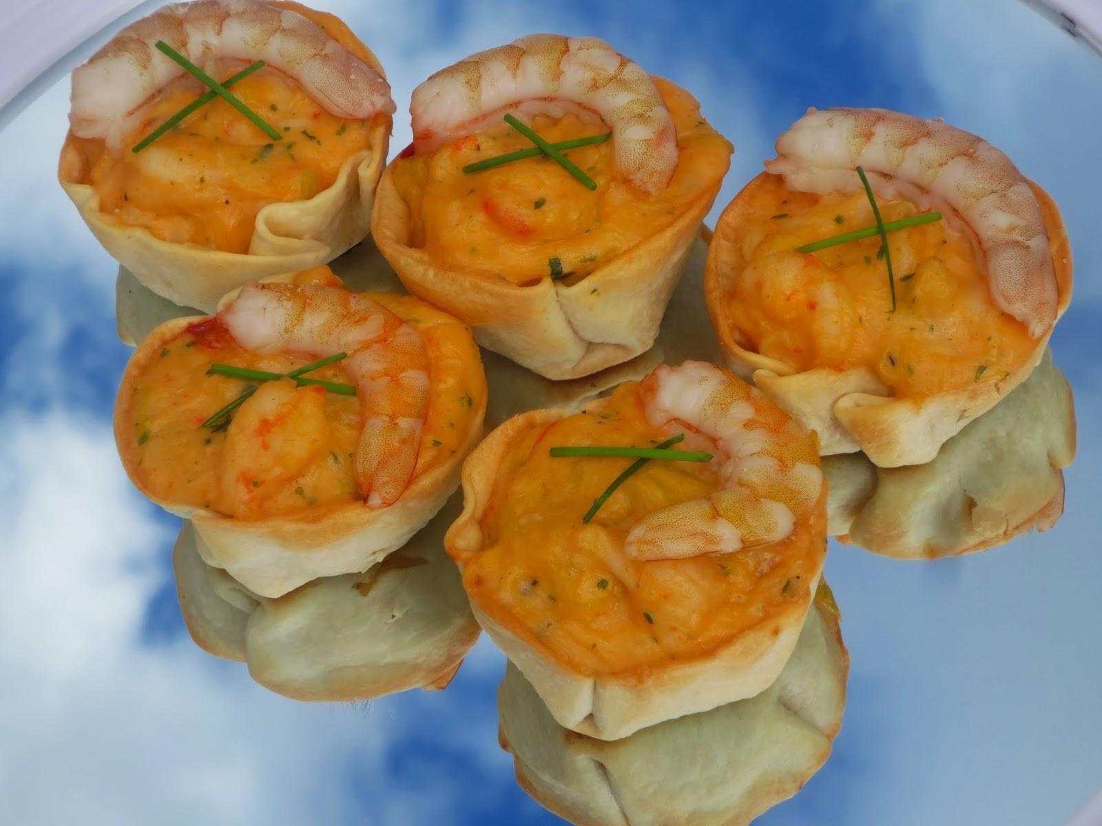 Pastelitos de gambas o langostinos Ana Sevilla cocina tradicional